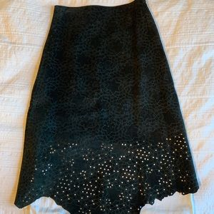 DKNY Suede skirt